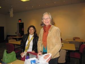 Lynn Levin and Elizabeth Stanley